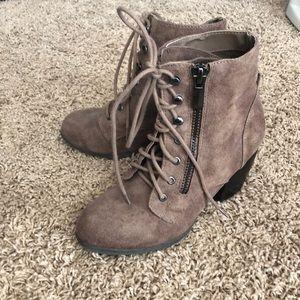 Boutique Lace-up booties
